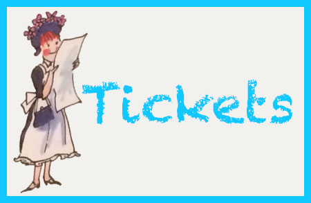 amelia bedelia reading paper classic image with text: tickets