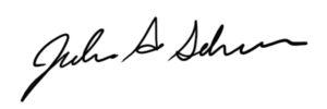 Julie Schroer signature