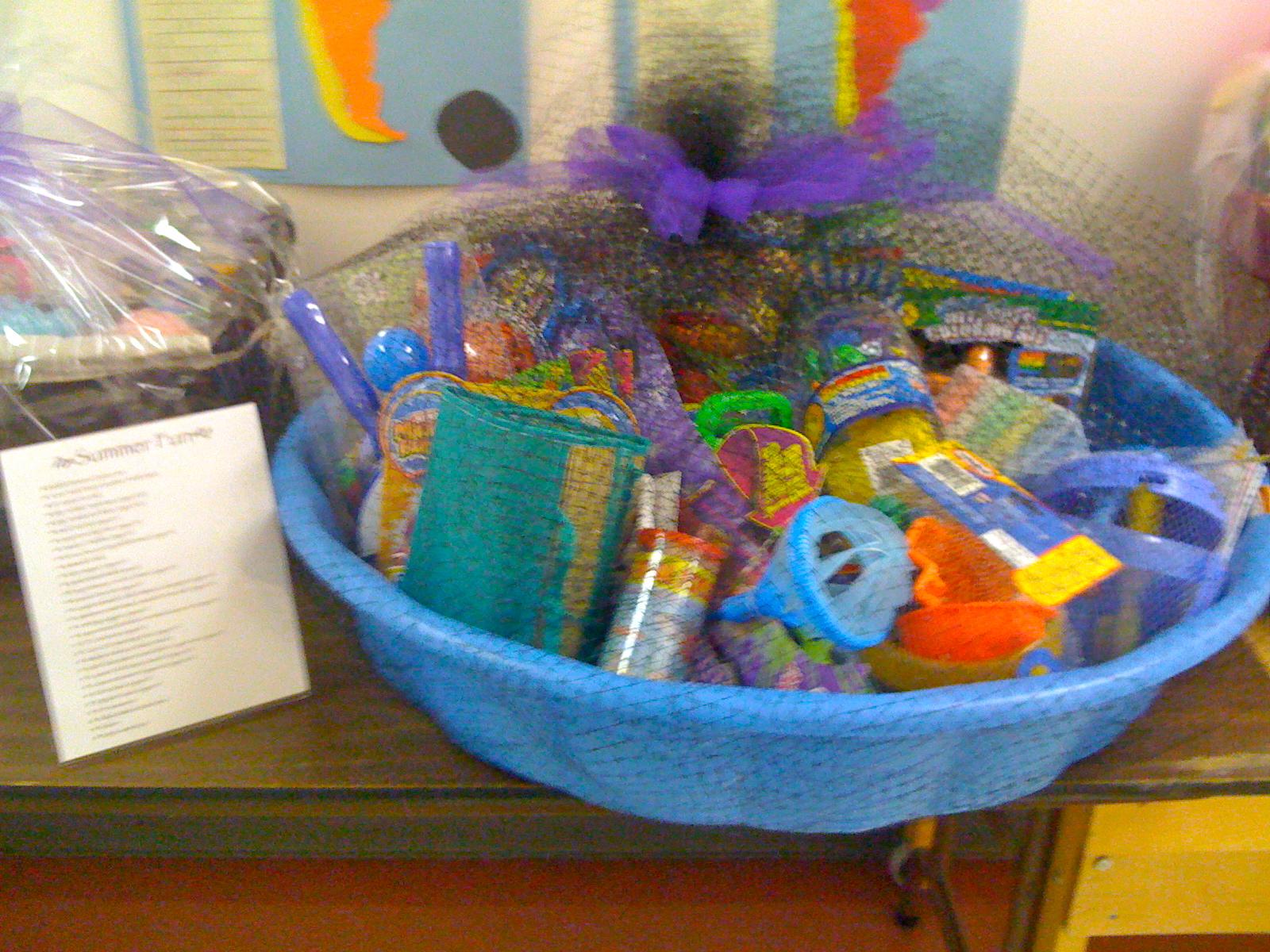 Toy Raffle Prizes : Spring picnic new school montessori center